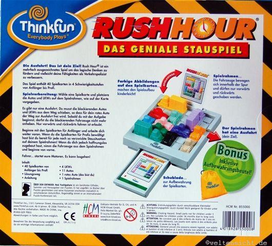 rushhour spiel